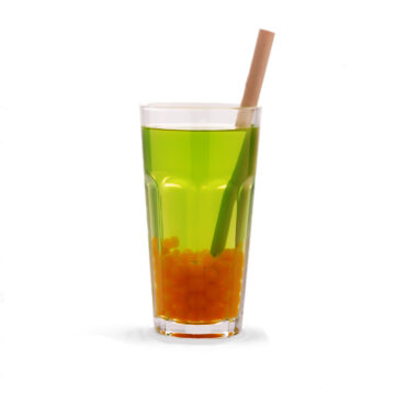juice cocktail with tea